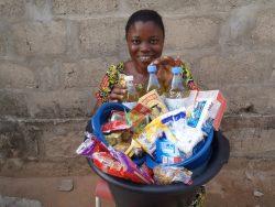 Une bénéficiaire d'un programme Entrepreneurs du Monde à Lomé.