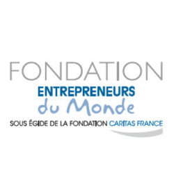 Logo Fondation Entrepreneurs du Monde