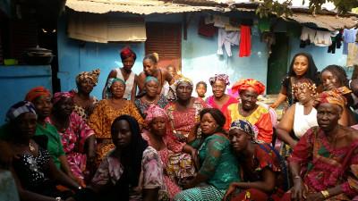 Des bénéficiaires au Togo