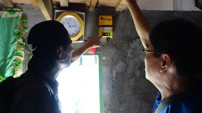 Installation d'un kit solaire