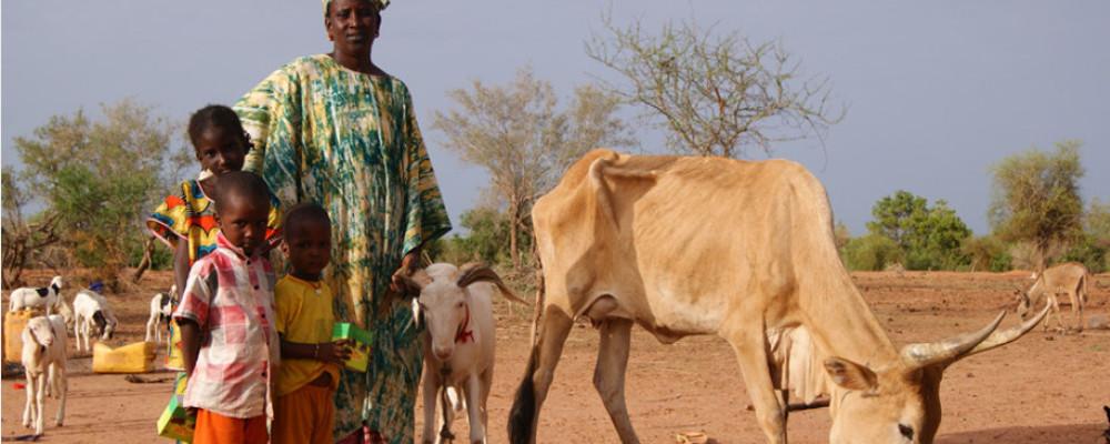 Une famille au Sénégal