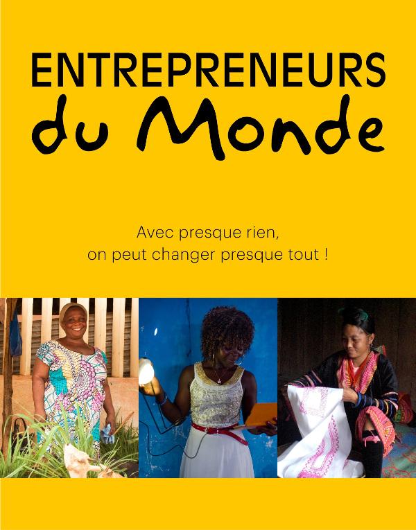 Couverture Livre 20 ans Entrepreneurs du Monde