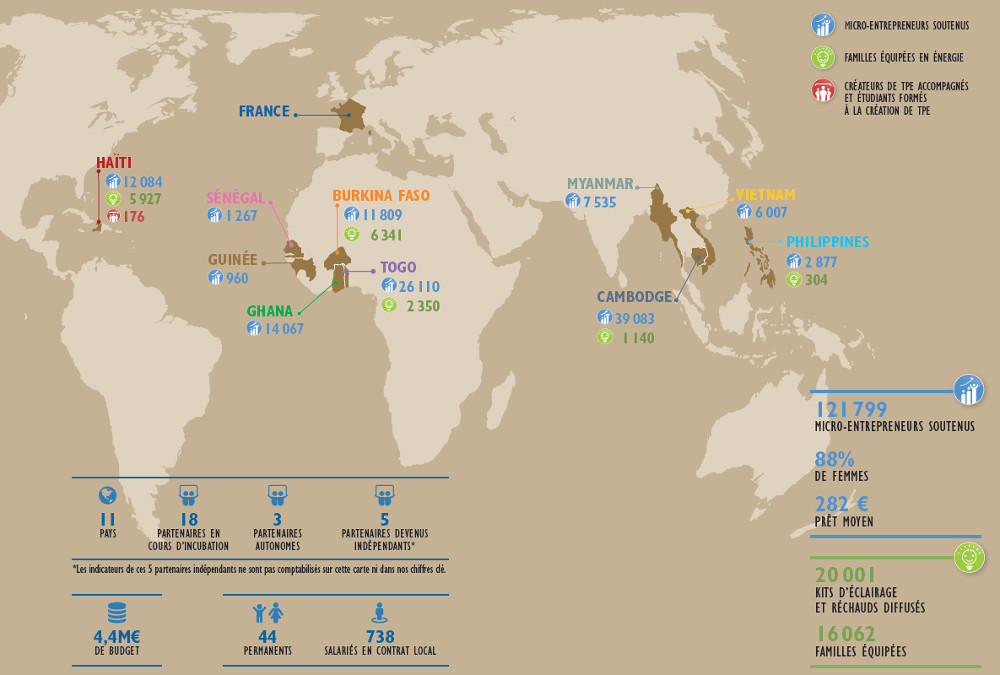 Planisphère chiffres 2017