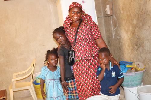 Mama Solly, bénéficiaire FANSOTO au Sénégal