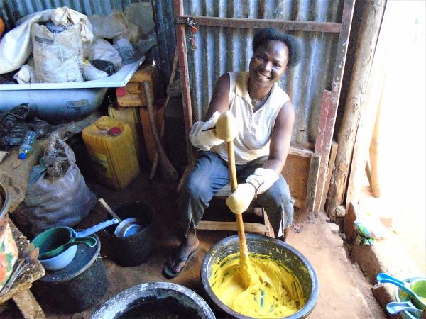 Noukou, bénéficiaire au Togo