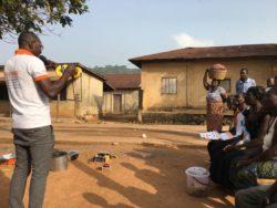 Une sensibilisation en zone rurale au Togo sur l'accès à l'énergie