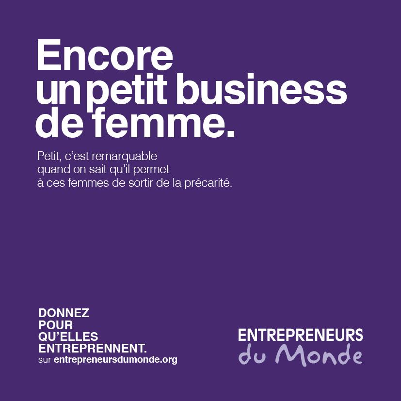 Encore un petit business de femme.