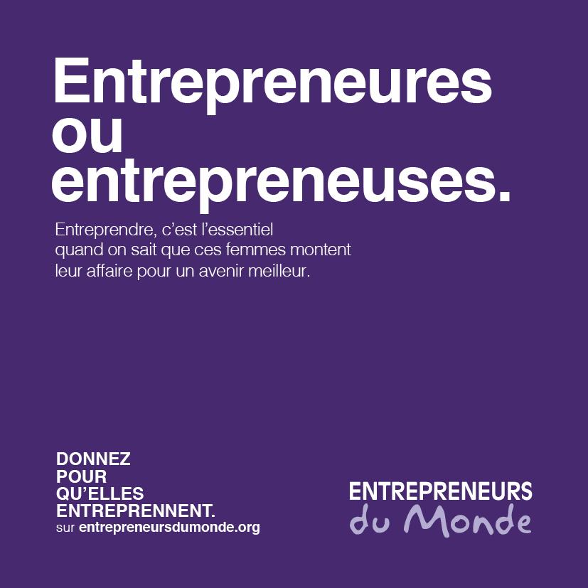 Êntrepreneures ou entrepreneuses