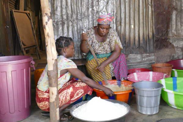 Adama bénéficiaire Munafa Sierra Leone