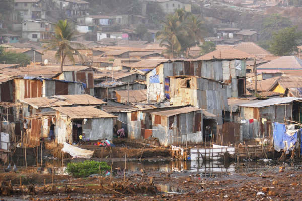Bidonville de Kanikay Freetown