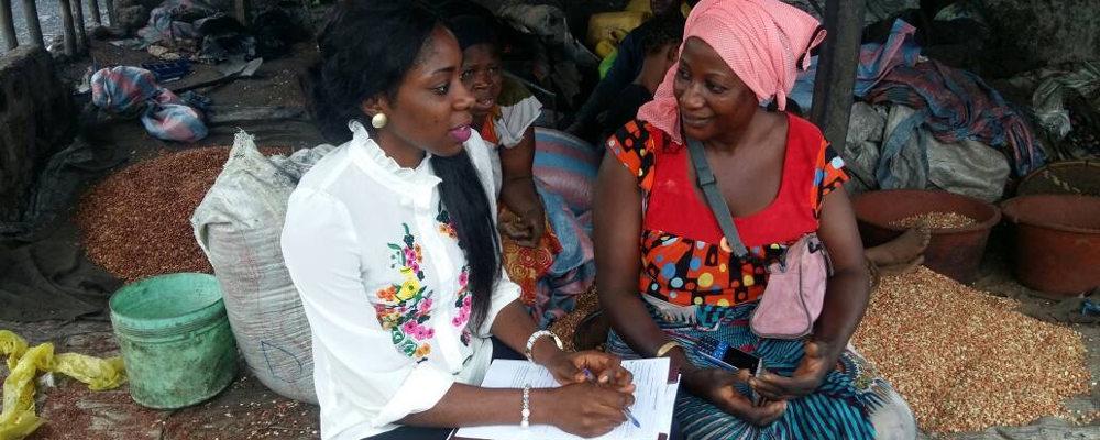 Guinée Conakry - Rencontre animateur et bénéficiaire en Guinée Conakry