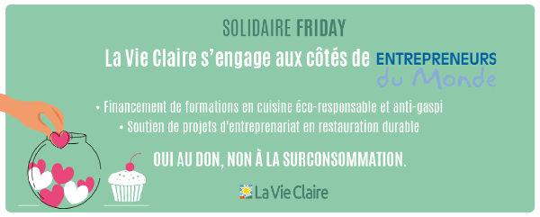 Partenariat avec la Vie Claire
