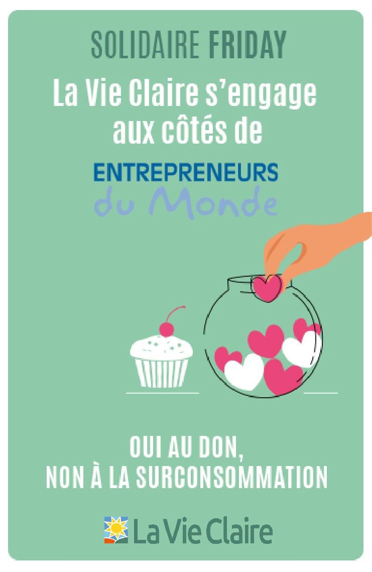 Partenariat Vie Claire - Entrepreneurs du Monde